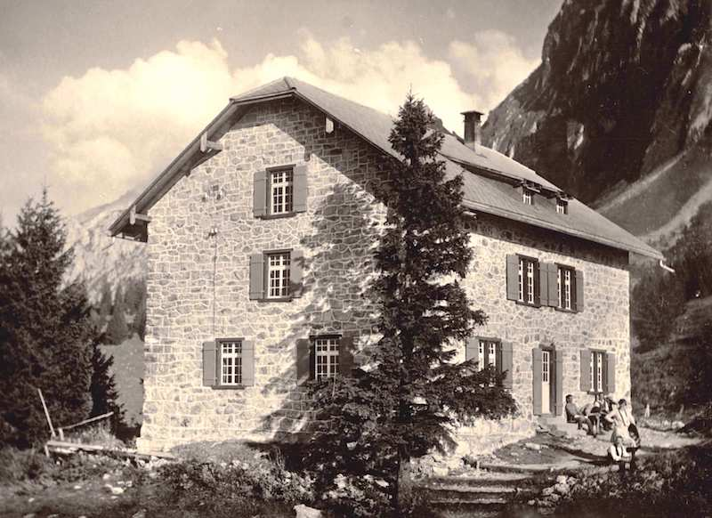 Naturfreundehaus Fronalp anno 1967
