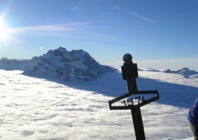 Fronalp und Schilt - Blick auf Nebelmeer