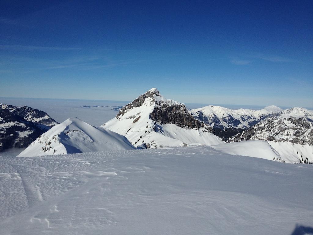Tages Ski- oder Snowboardtour auf den Schilt: