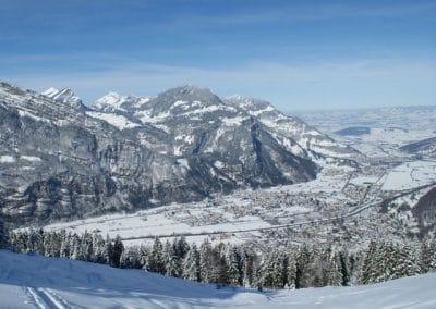 Fronalp Schneeschuhwandern