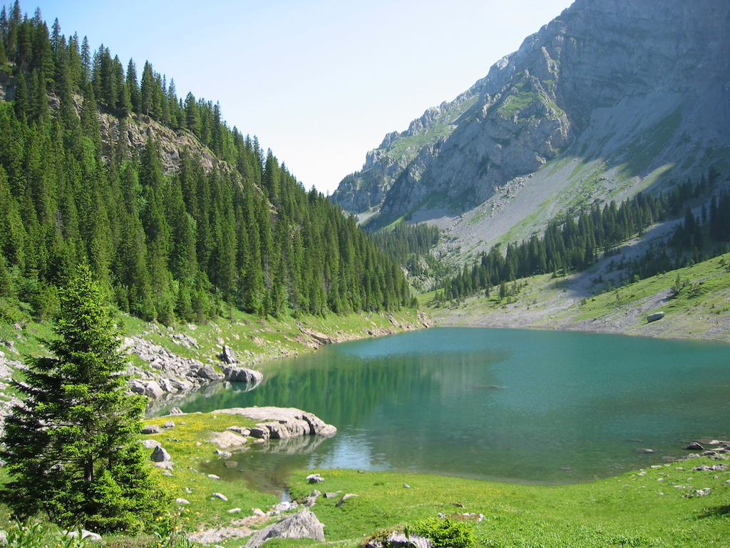 Rund-Tagestour Spaneggsee und Talalpsee