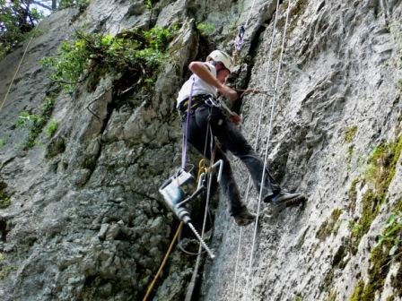 Kletterwand – Entstehung