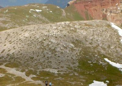 Fronalp Umgebung - Abstieg vom Schilt