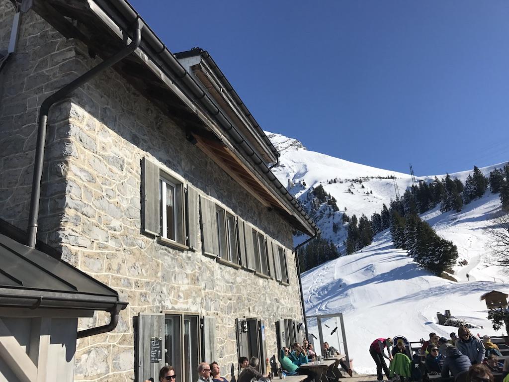 Berggasthaus Naturfreundehaus Fronalp - Skipiste