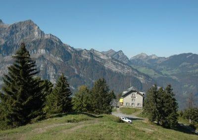 Berggathaus Naturfreundehaus Fronalp im Sommer