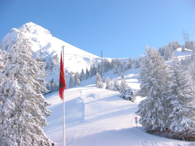 Skifahren am Fronalp – Skilift, Freeriden und Skitouren