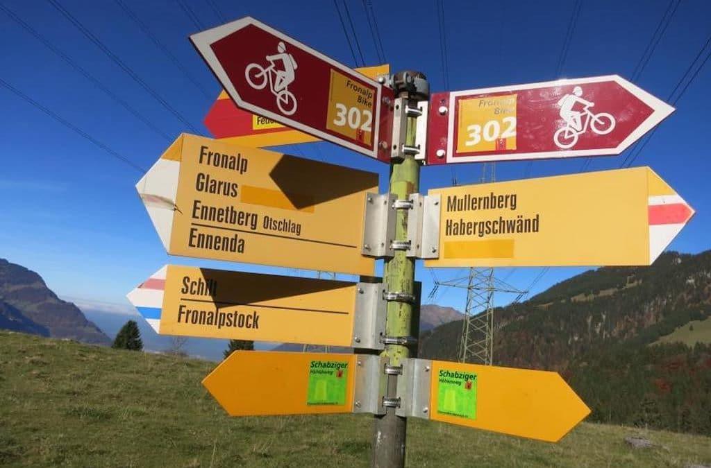 Mountainbike-Tour Naturfreundehaus Fronalp