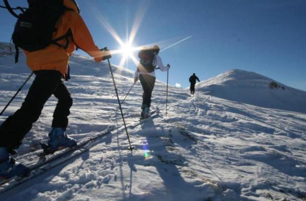 Schilt der Skitourenberg