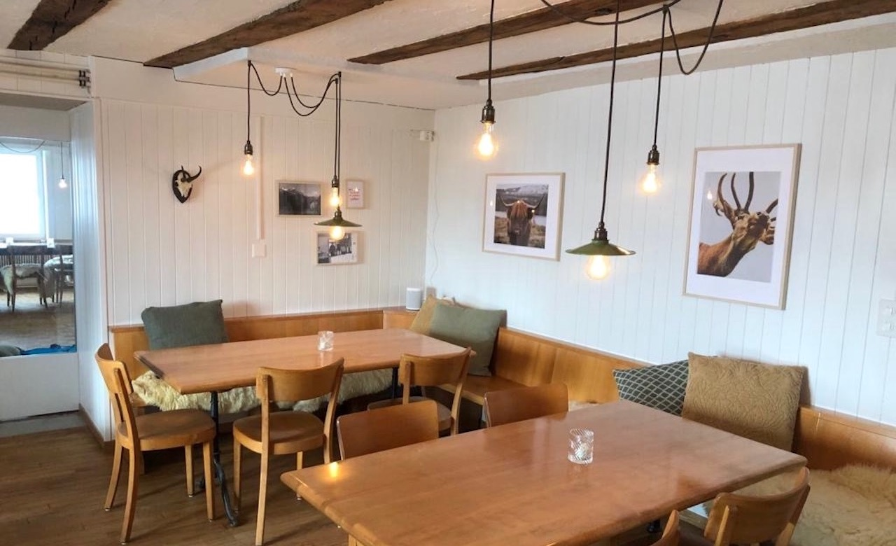 Restaurant nach Modernisierung - Umbau
