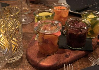 Pickels zum Kaesefondue