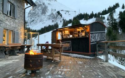"""Wiedereröffnung mit """"GastroRollbar goes Mountain"""""""