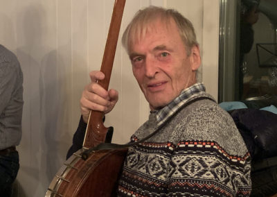 Banjo-Spieler
