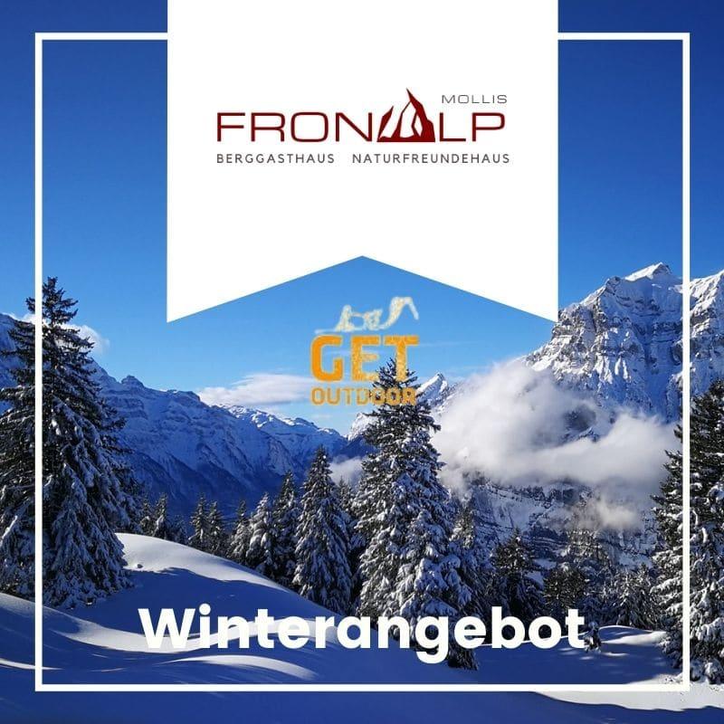 Winterangebot 2020 Fronalp mit Get Outdoor